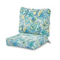 Greendale Home Fashions Baltic Outdoor Deep Seat Cushion Set