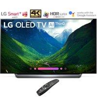 """LG OLED55C8PUA 55""""-Class C8 OLED 4K HDR AI Smart TV (2018 Model) – (Certified Refurbished)"""
