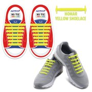 838895e13a53 Homar Kids Shoelaces for Sneakers - Best in Sports Fan Shoelaces - Rubber  Waterproof No Tie