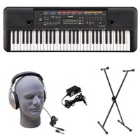 Yamaha PSR-E263 PKS 61-Key Premium Keyboard Pack with Stand, Headphones & Power Supply