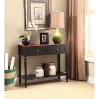 Convenience Concepts French Country Two Drawer Hall Table