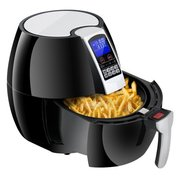 Zeny Electric Air Fryer Digital LCD Display W/ 8 Cooking Presets, Temperature Timer Control