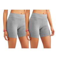 Women's Core Active Dri-More Bike Short, 2 Pack Value Bundle
