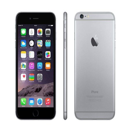 Apple iPhone 6 128GB Factory GSM Unlocked Smartphone - Space Gray (Refurbished)