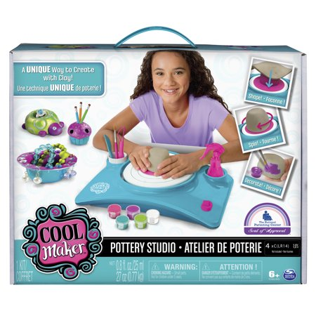 Cool Maker Pottery Studio Clay Pottery Wheel Craft Kit For Kids