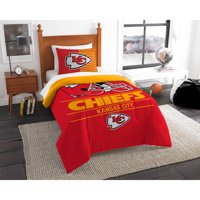"NFL Kansas City Chiefs ""Draft"" Bedding Comforter Set"