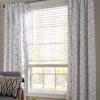 """Better Homes and Garden 2"""" Faux Wood Cordless Blind, White"""