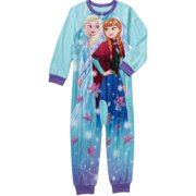 63d9e1773b Disney Frozen Princess Anna   Elsa Girls  Blanket Sleeper Pajamas