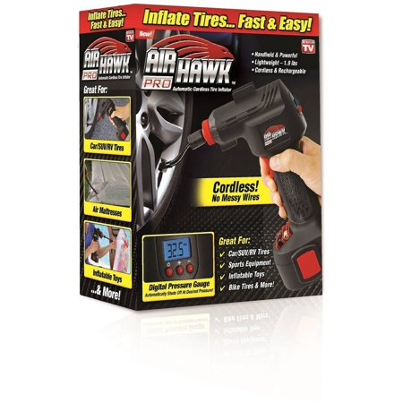 Air Hawk Pro Portable Air Compressor W Built In Led Light As
