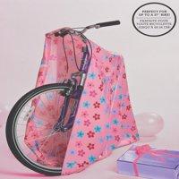 American Greetings Jumbo Plastic Pink Daisies Gift Bag