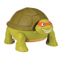 Teenage Mutant Ninja Turtles Micro Mutant Michelangelo's Skate Park Pet Turtle to Playset