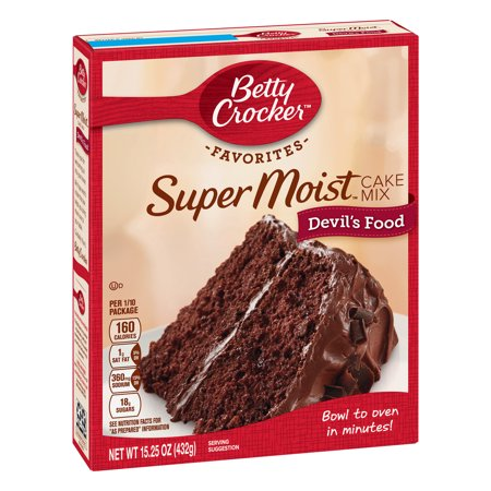 (2 pack) Betty Crocker Super Moist Devil