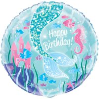 Foil Mermaid Balloon, 18in