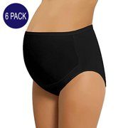 52e72202632c5 NBB 6 Pack Women's Adjustable Cotton Maternity Underwear High Cut Brief  Panties (X-Large