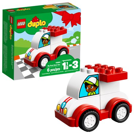 LEGO DUPLO My First Race Car 10860 Preschool Building Set (6 Pieces)](Building Toys For 7 Year Olds)