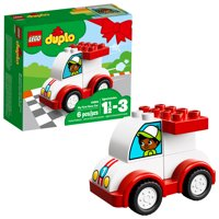 LEGO DUPLO My First Race Car 10860 Preschool Building Set (6 Pieces)