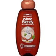 Garnier Whole Blends Smoothing Shampoo, Coconut Oil & Coconut Butter, 22 Oz