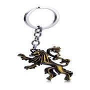 New Game of Thrones House Stark Car Key Chain Keychain Keyring