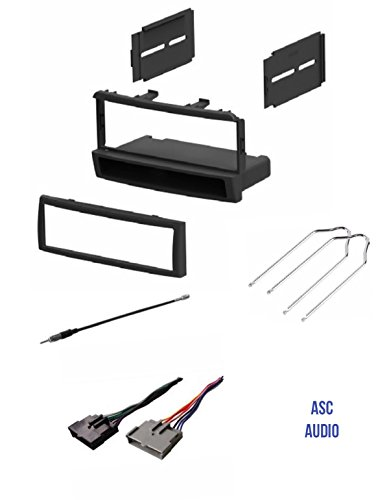ford stereo wiring harness 2000 Ford F-250 Wiring Diagram asc car stereo dash kit, wire harness, antenna adapter, and radio tool for