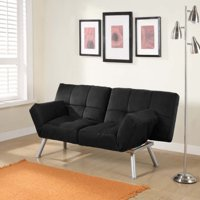 Product Image Mainstays Contempo Tufted Futon Couch Multiple Colors