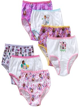 Disney Jr. Toddler Girls Underwear, 7 Pack