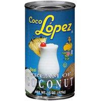 Coco Lopez Real Cream of Coconut, 15 Oz, 2 Cans