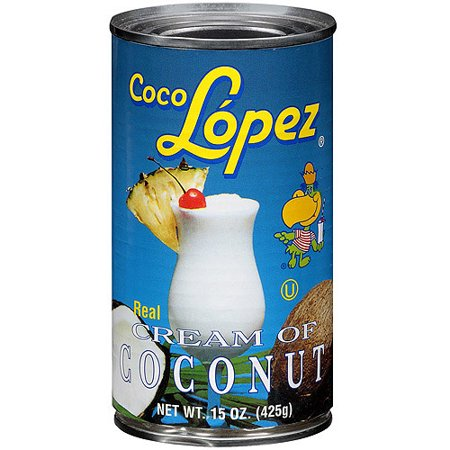 Coco Lopez Real Cream of Coconut, 15 (Cream Scone Mix)