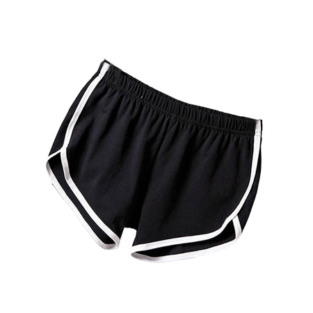 Women Girls Casual Sports Running Yoga Gym Beach Shorts - Purple Booty Shorts