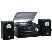 Best Turntables - Jensen JTA-475 3-Speed Turntable with CD, Cassette Review