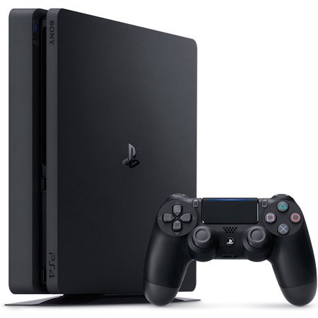 Refurbished Sony PlayStation 4 1TB Slim Gaming Console,