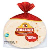 Mission Fajita Flour Tortillas, 20 Count (26 oz.)