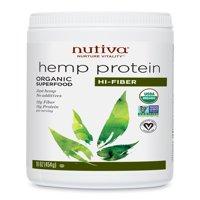 Nutiva Organic Hemp Protein Powder, 15g Protein, 1.1 Lb