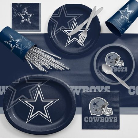 Dallas Cowboys Ultimate Fan Party Supplies Kit - Dallas Tx Halloween Party