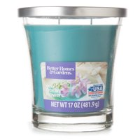 Better Homes & Gardens Fresh Ocean Flowers Candle, 17 oz