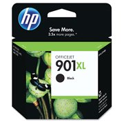 HP 901XL High Yield Black Original Ink Cartridge (CC654AN)