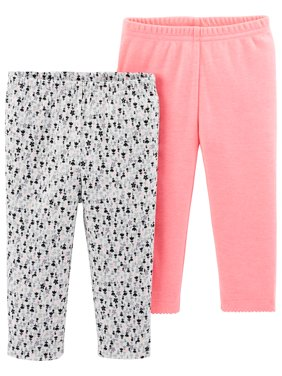 Pants, 2-pack (Baby Girls)