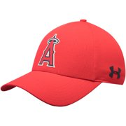 5c8c414fe3a Los Angeles Angels Under Armour MLB Driver Cap 2.0 Adjustable Hat - Red -  OSFA