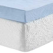 5267d87abca80 Modern Sleep 3-Inch Gel Memory Foam Mattress Topper with Free Cover