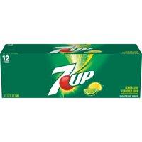 7UP Caffeine-Free Lemon-Lime Flavored Soda, 12 Fl. Oz., 12 Count