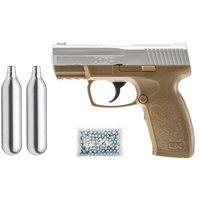 Umarex XCP Air Pistol Kit, Includes: 2 C02 + 250 BBs + Pistol