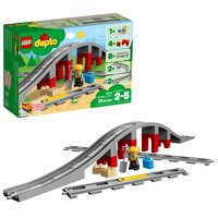 LEGO DUPLO Town Train Bridge and Tracks 10872 (26 Pieces)