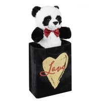 Way To Celebrate Plush Pal in Gift Bag, Panda