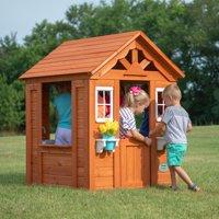 Backyard Discovery Timberlake Cedar Wooden Playhouse