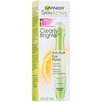 Garnier SkinActive Clearly Brighter Anti-Puff Eye Roller, 0.5 fl. oz.