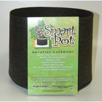SMART POT FABRIC GARDEN PLANT CONTAINER BLACK, 25 GALLON