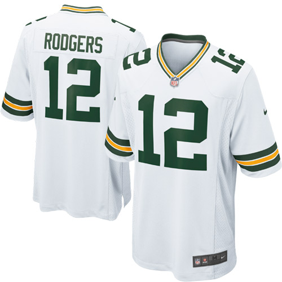 Aaron Rodgers Green Bay Packers Nike Game Jersey - White 6d4c5ef6f