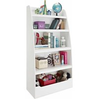 Ameriwood Home Mia Kids' 4 Shelf Bookcase, White