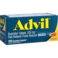 Advil Ibuprofen Coated Tablets, 200 mg, 100 ct