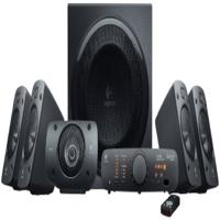 Logitech Z906 5.1-Channel 500W Dolby Surround Subwoofer, Black