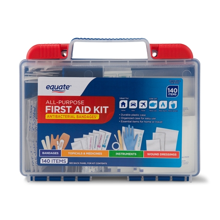 Horses First Aid (Equate All-Purpose First Aid Kit, 140)
